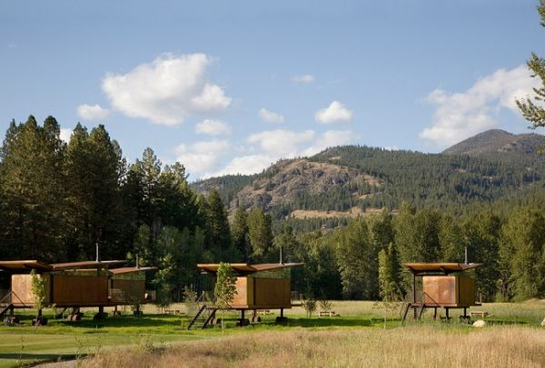Rolling Wilderness Huts in Washington by OSKA Architects (13)