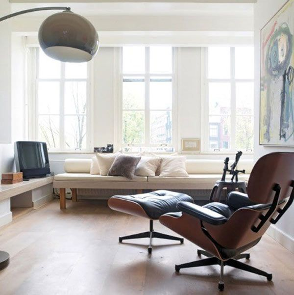 30 Interiors Featuring The Iconic Eames Chair on Freshome 16 30 Eye Catching Interiors Featuring The Iconic Eames Lounge Chair